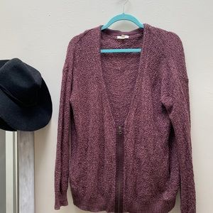 Urban Outfitters Half Zip Cardigan